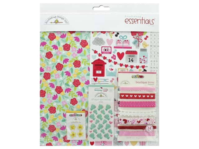 Doodlebug Collection Love Notes Essentials Kit