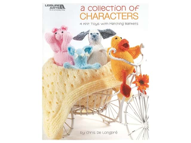 Leisure Arts A Collection of Characters Knit Book