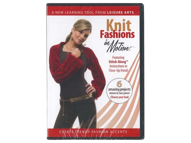 Leisure Arts Knit Fashions in Motion DVD