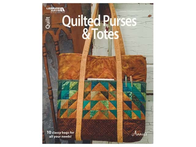 Leisure Arts Quilted Purses & Totes Book