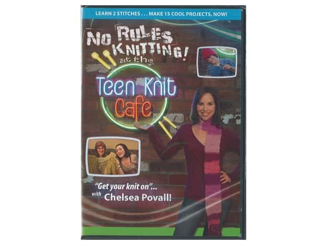 Leisure Arts No Rules Teen Knit Cafe DVD