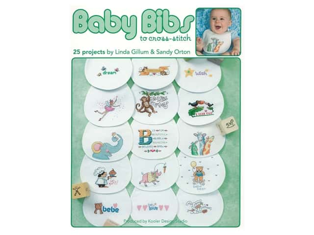 Leisure Arts Baby Bibs to Cross Stitch Book