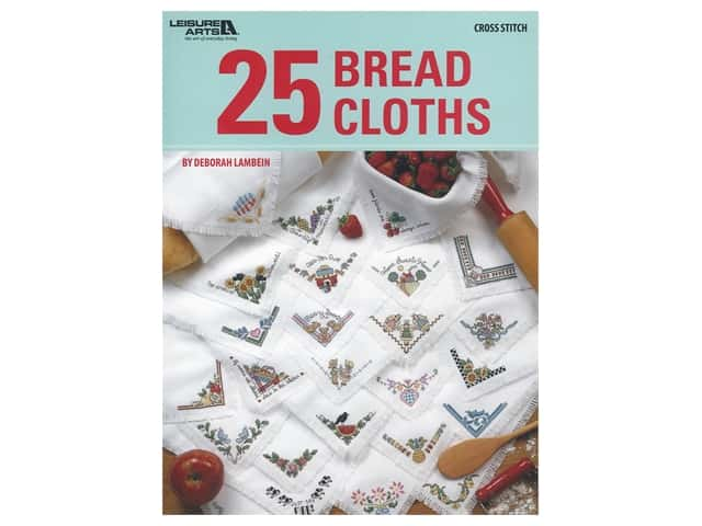 Leisure Arts 25 Bread Cloths Book