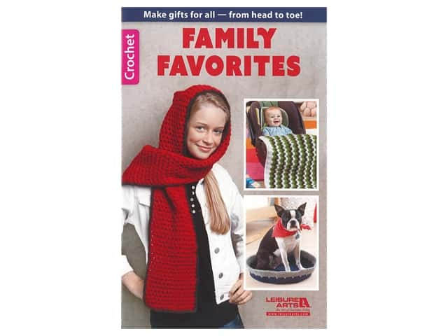 Leisure Arts Family Favorites Crochet Book