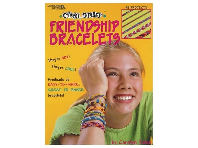 Leisure Arts Cool Stuff Friendship Bracelets Book