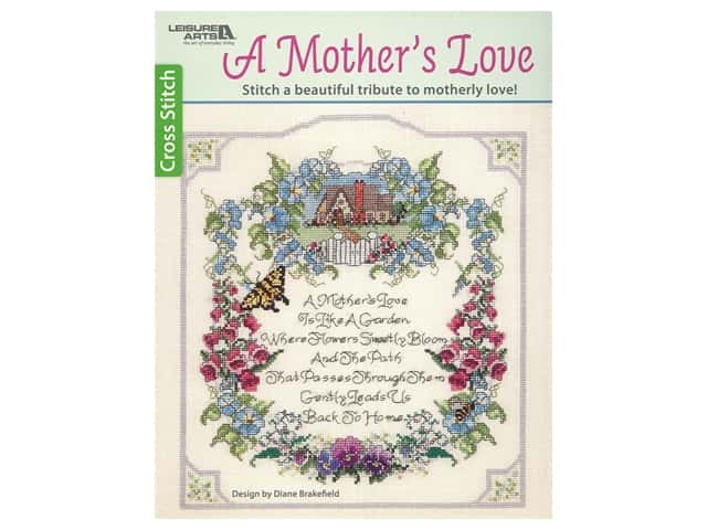 Leisure Arts A Mother's Love Cross Stitch Book