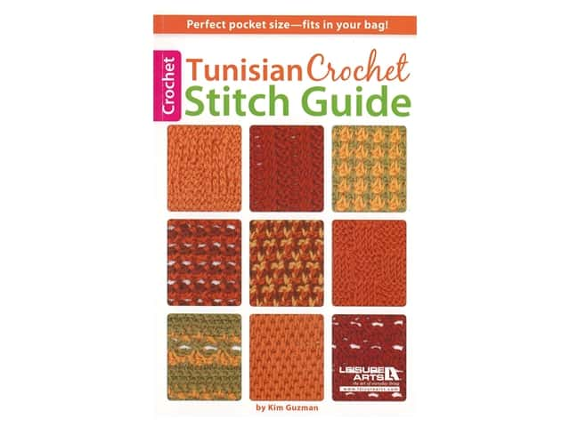 Leisure Arts Tunisian Crochet Stitch Guide Book