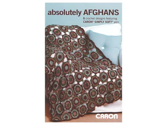 Caron Absolutely Afghans Crochet Book
