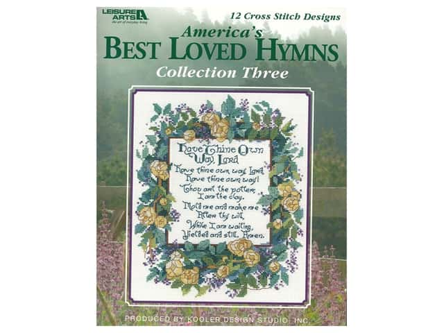Leisure Arts America's Best Loved Hymns Collection 3 Book