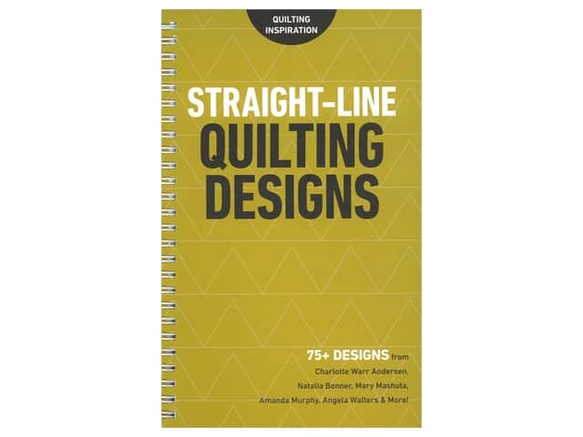 C&T Publishing Straight Line Quilting Designs Booklet