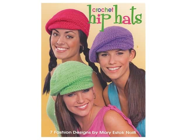 Leisure Arts Crochet Hip Hats Book