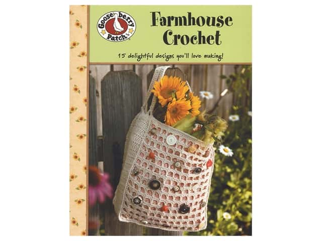 Gooseberry Patch Farmhouse Crochet Book