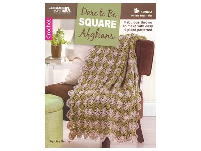 Dare to Be Square Afghans Crochet Book