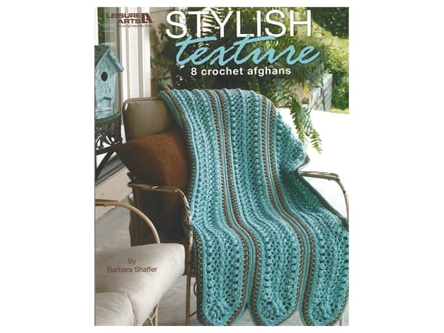 Leisure Arts Stylish Texture Crochet Book