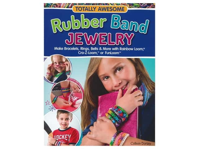 Design Originals Awesome Rubber Band Jewelry Book