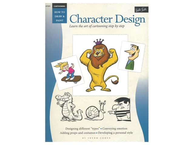 Walter Foster How To Draw & Paint Character Design Book