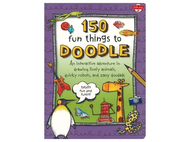 Walter Foster Jr 150 Fun Things to Doodle Book
