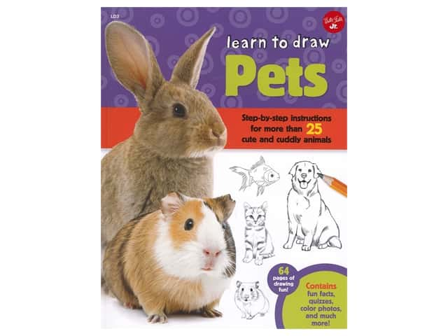Walter Foster Jr Learn To Draw Pets Book
