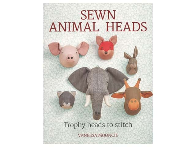 Guild of Master Craftsman Sewn Animal Heads Book