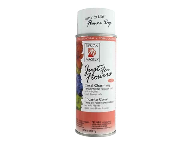 Design Master Just For Flowers Spray Dye 11 oz. #141 Coral Charming
