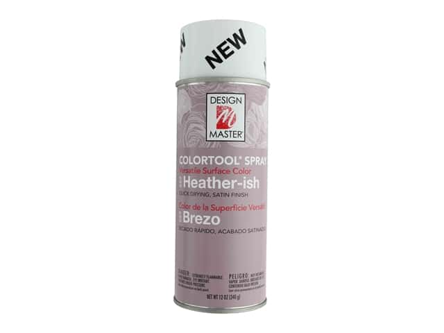Design Master Colortool Spray Paint 12 oz. #669 Heatherish