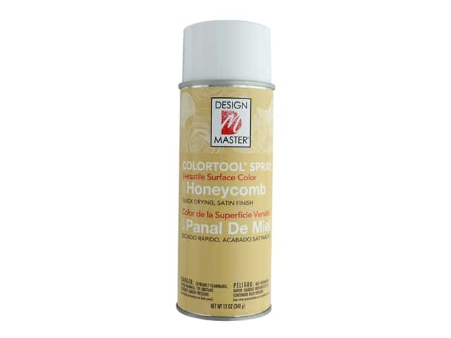 Design Master Colortool Spray Paint 12 oz. #677 Honeycomb