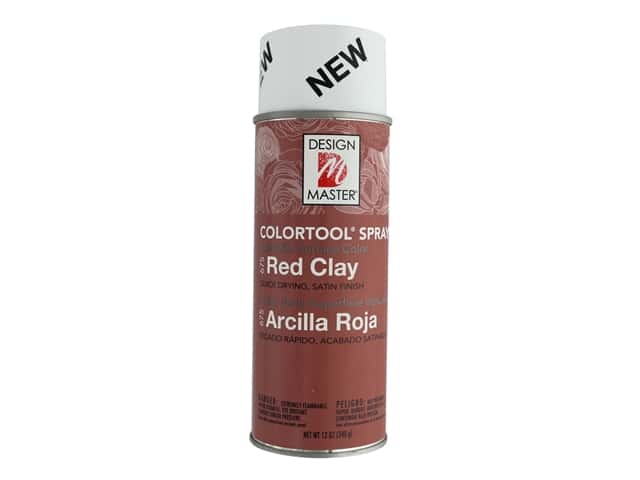 Design Master Colortool Spray Paint 12 oz. #675 Red Clay
