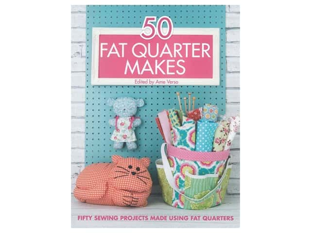 David&Charles 50 Fat Quarter Makes Book