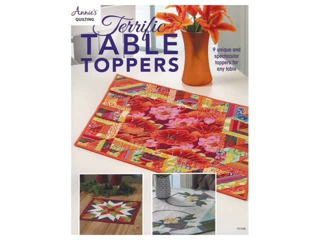 Annie's Quilting Terrific Table Toppers Book