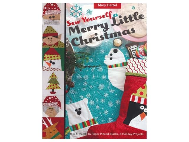 C&T Sew Yourself A Merry Little Christmas Book