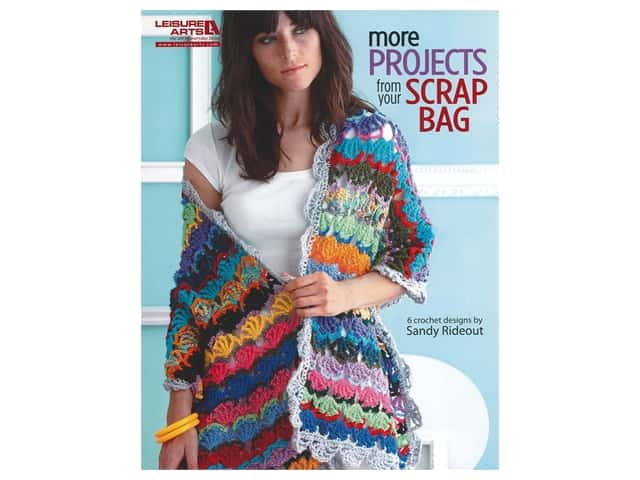 Leisure Arts More Projects From Your Scrap Bag Crochet Book