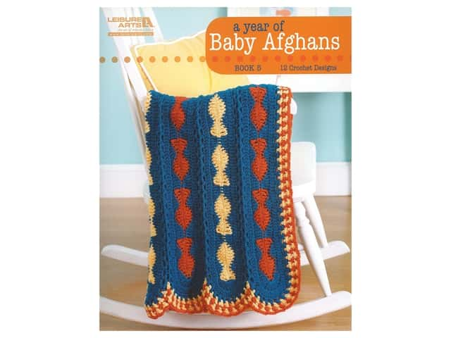A Year of Baby Afghans Crochet Book 5