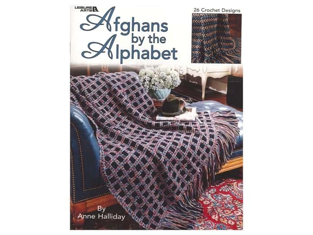 Afghans by the Alphabet Crochet Book