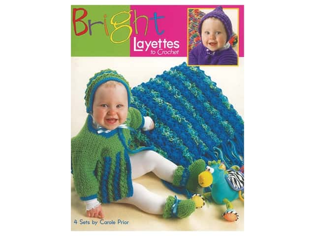Bright Layettes to Crochet Book