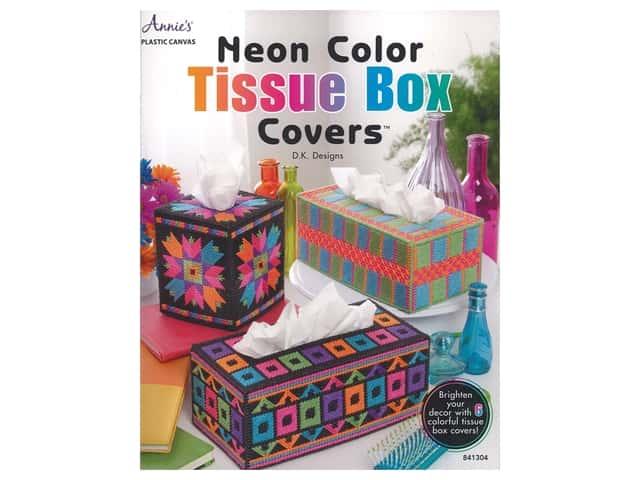 Annie's Neon Color Tissue Box Covers Book