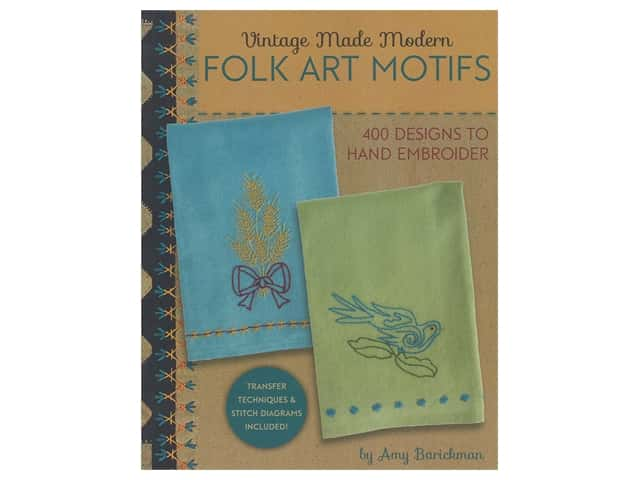Indygo Junction Vintage Made Modern Folk Art Motifs Book