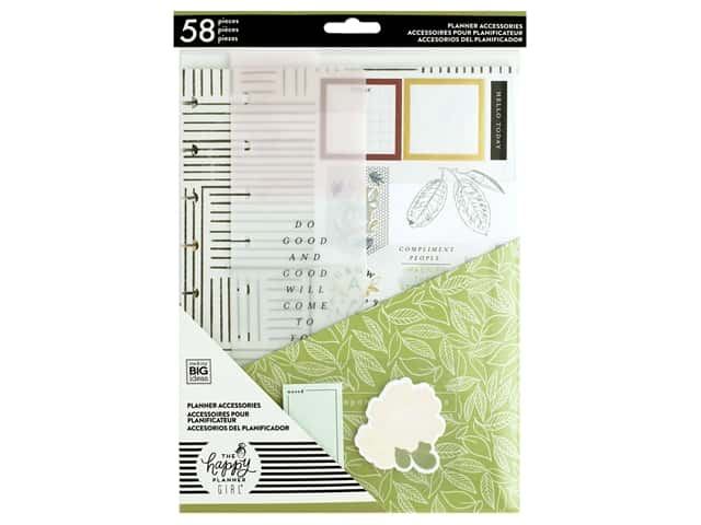 Me&My Big Ideas Happy Planner Accessory Pack Classic Homebody