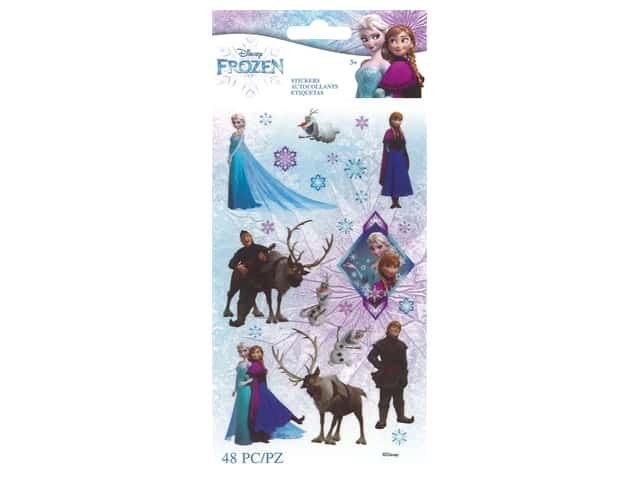 EK Disney Sticker Frozen Characters