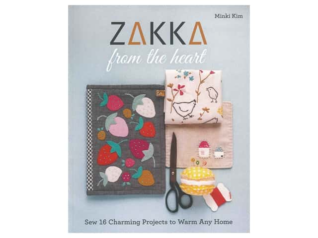 Stash By C&T Zakka From The Heart Book