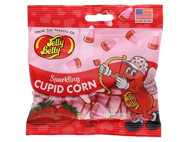 Jelly Belly Confections 3 oz Strawberry Cupid Corn