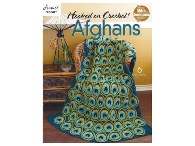 Annie's Hooked On Crochet Afghans Book