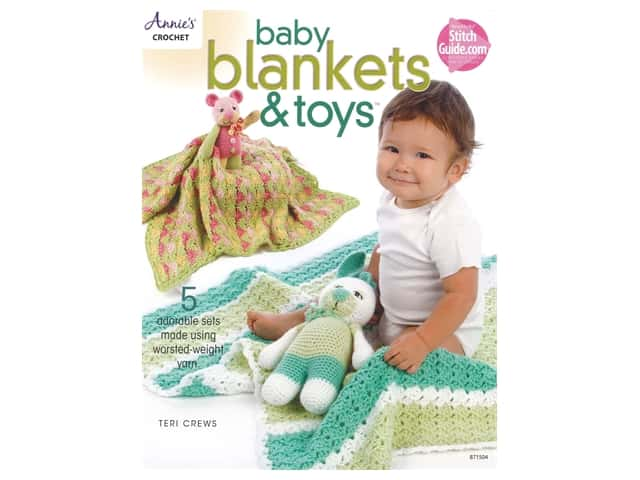 Annie's Baby Blankets & Toys Book