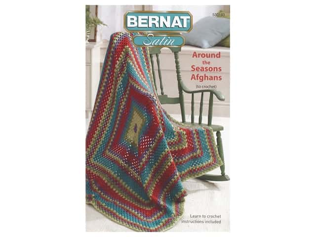 Around the Seasons Afghans Crochet Book
