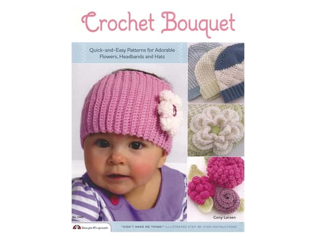 Design Originals Crochet Bouquet Book