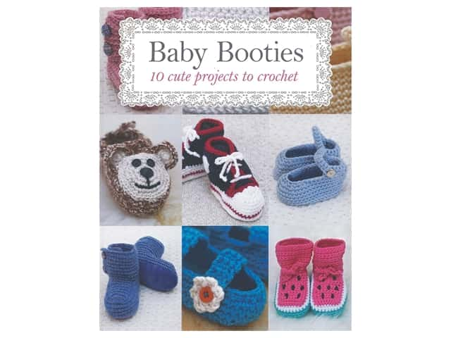 Guild of Master Craftsman Publications Baby Booties Book