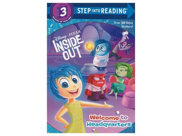 Random House Disney Inside Out Welcome to Headquarters Book