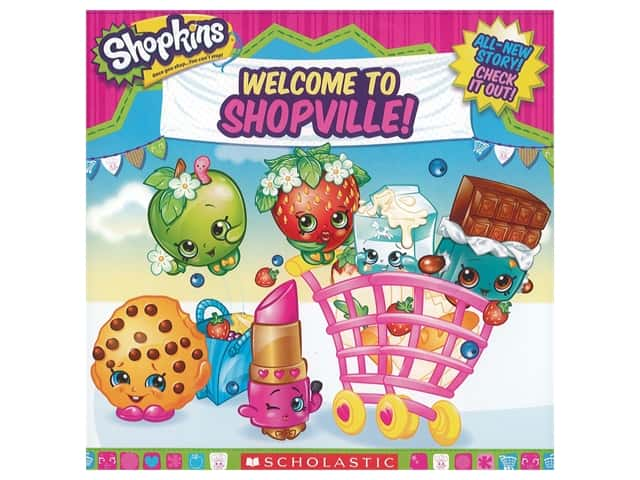 Scholastic Shopkins Welcome To Shopville Book