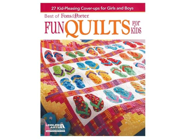 Leisure Arts Fons & Porter Fun Quilts For Kids Book