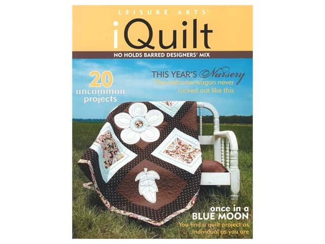 Leisure Arts iQuilt No Holds Barred Designers' Mix Book