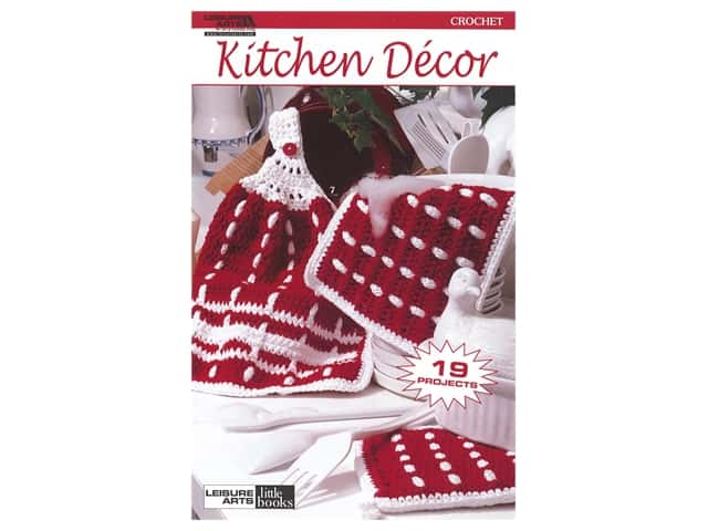Leisure Arts Crochet Kitchen Decor Book